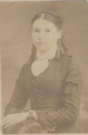Alice (Webber) Jude ca. 1885, Anoka, MN