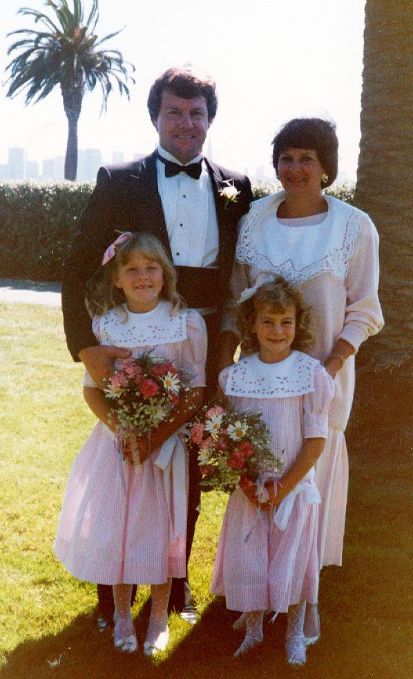 Bud, Mary, Katie, and Jenny Lyons