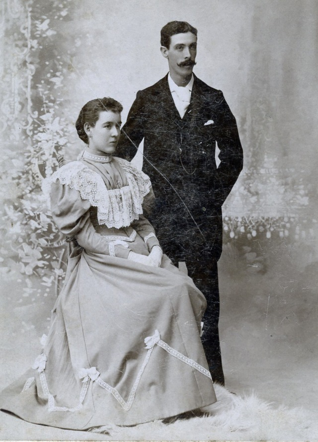 Charles and Emma Lang</br> Photo Credit: Margaret Gilbert Peterson