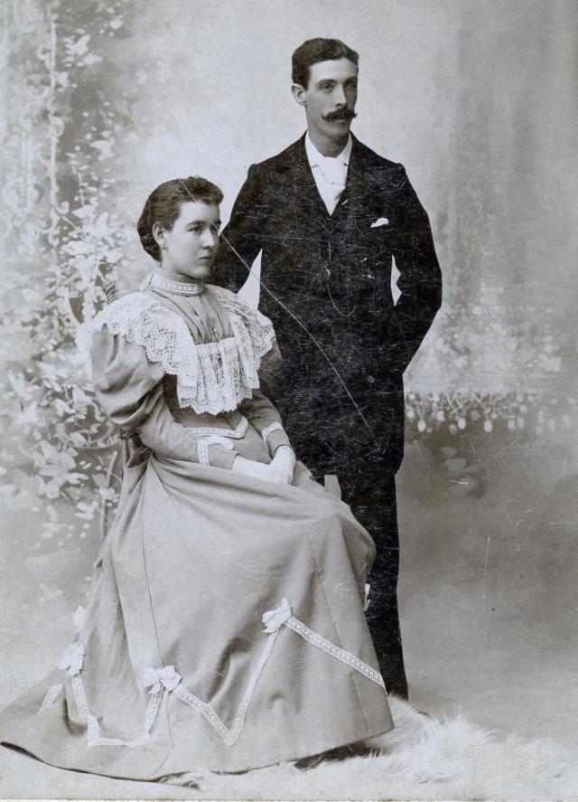 Charles and Emma Lang</br> Photo Credit: Margaret Gilbert Peterson