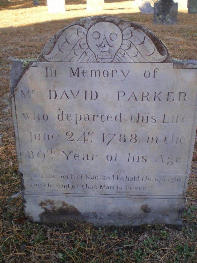 David Parker Gravestone