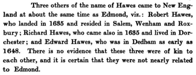 Edmund Hawes Bio --