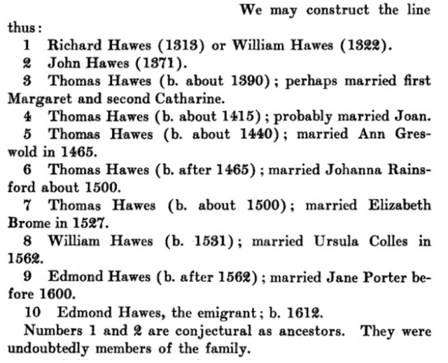 Edmund Hawes Bio 13a
