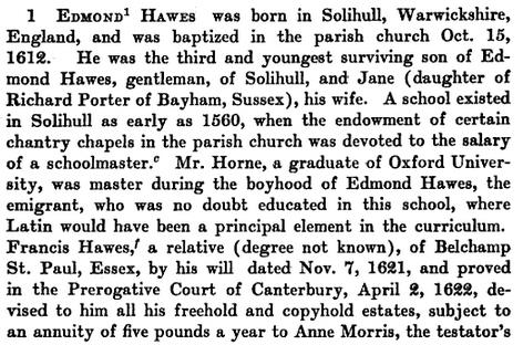 Edmund Hawes Bio 65