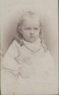 Ellen Webber Coleman  Age  2 1/2