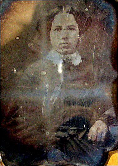 Ellen Webber, Vassalboro, ME ca.1850 2