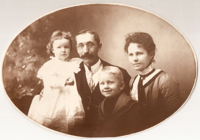 Miller Family: Genevieve, Frank, Henry, and Agnes