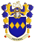 Immigrant Ancestor - Freeman Coat of Arms