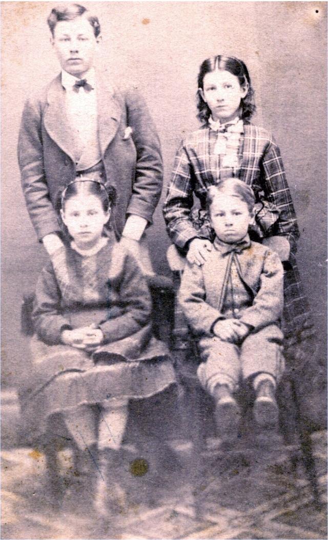 G. D. & Ellen Coleman Children ca. 1871 Anoka, MN