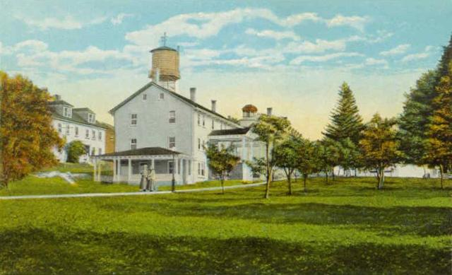 General View of Canterbury Shaker Village 1920