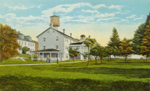 General View of Canterbury Shaker Village 1920