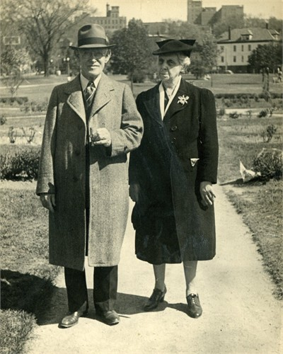 George and Fanny Lang