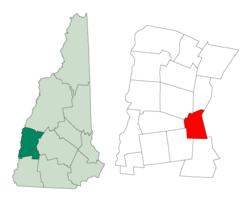 Reuben settled ion Goshen, Sullivan, New Hampshire