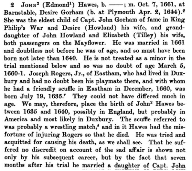 John Hawes Bio From