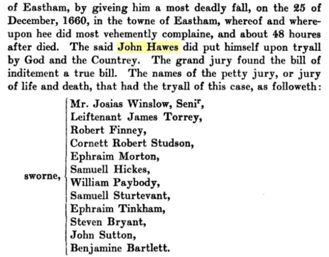John Hawes Bio 3