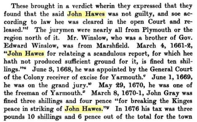 John Hawes Bio 4