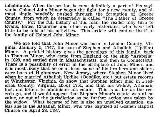 John Minor Bio 2