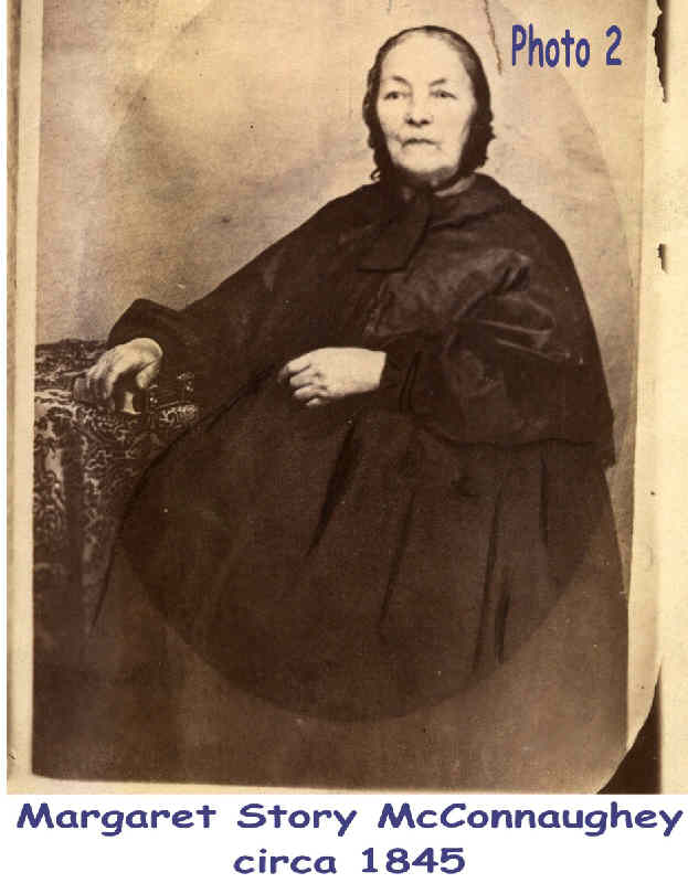 Margaret Story McConahey circa 1845