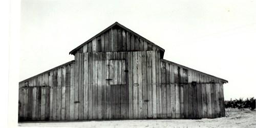 Marion Miner Barn 1930's