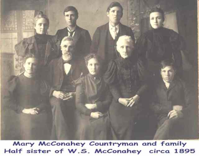 Mary McConahey Countryman,  circa 1895