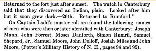 Moses Danforth French and Indian War 2