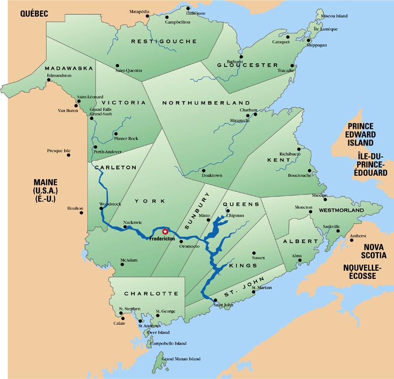 New England Planters In New Brunswick