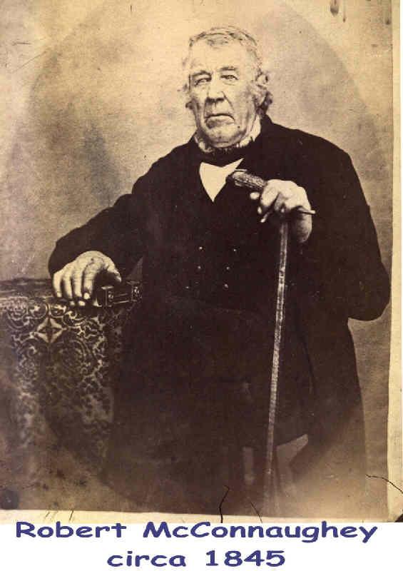 Robert McConahey circa 1845