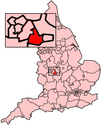 Solihull Map