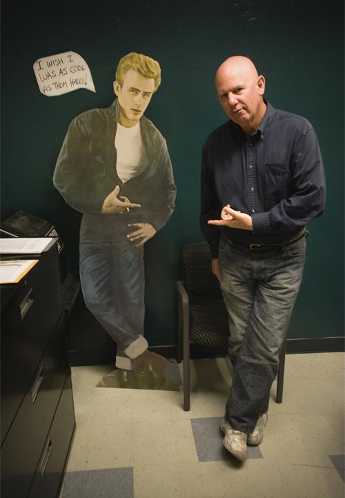 Thom Halls (and his buddy James)