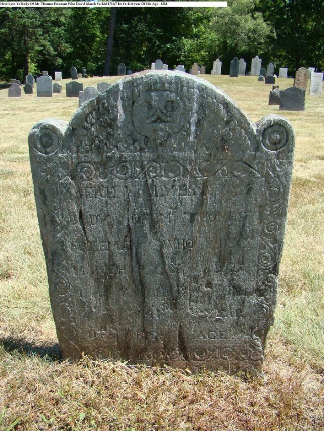 Thomas Freeman Jr. Gravestone