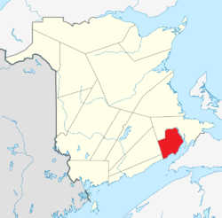 http://en.wikipedia.org/wiki/Hopewell_Parish,_New_Brunswick.  Hopewell Parish is is bordered to the north by Hillsborough Parish, to the east by Petitcodiac River and south by Harvey Parish, and to the west by the Elgin Parish.