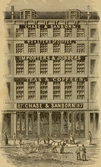 Chase & Sanborn building at 87 Broad St., Boston