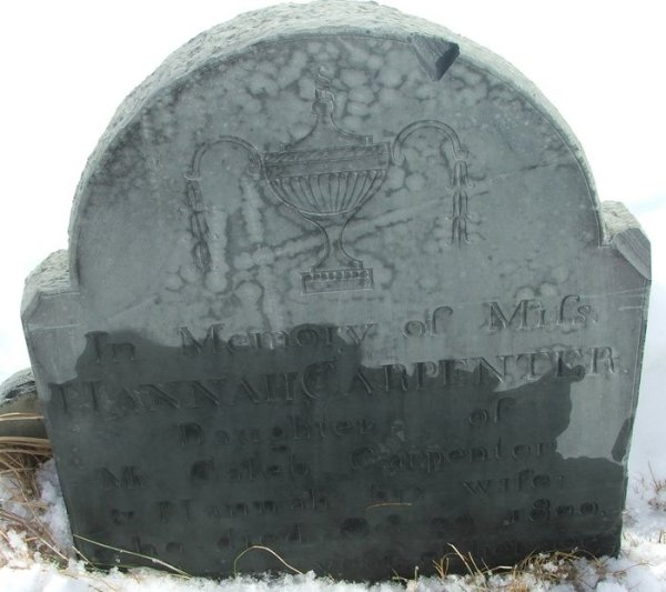 Hannah Carpenter Gravestone Find A Grave Memorial# 21483320