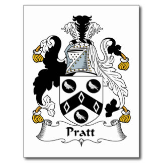 Immigrant Ancestor - Pratt Coat of Arms