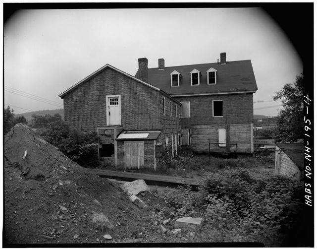 Rear View of House before it was moved