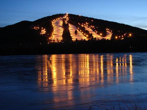 Shawnee Peak Shawnee Mountain Ski Area Resorts Night