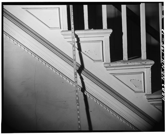 Stairs Dexter House Detail