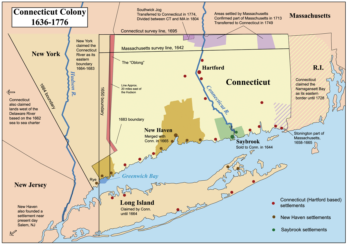 a history of connecticut Reaching to connecticut  us history ushistoryorg homepage back home   in religious practices connecticut mirrored massachusetts bay politically.