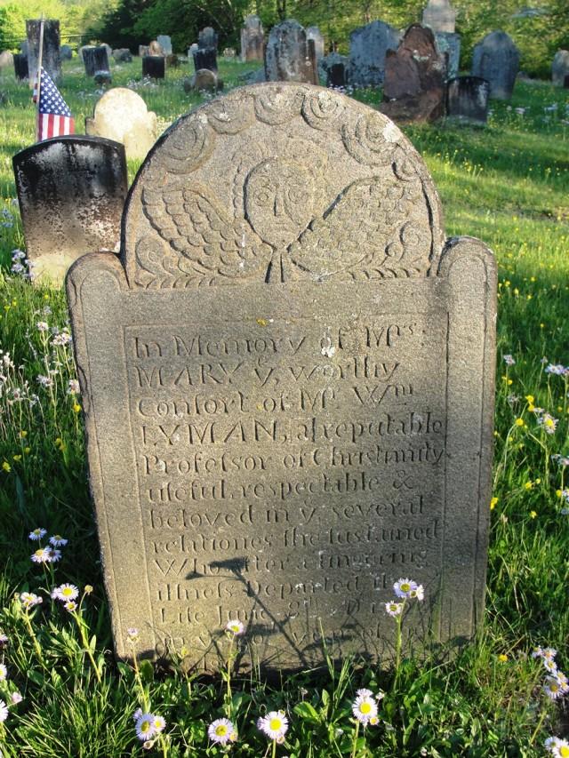 Mary Barker Lyman Gravestone