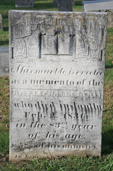 Rev Eliphalet Lyman