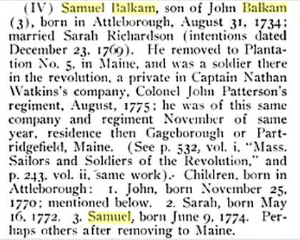 Samuel Balkam Bio