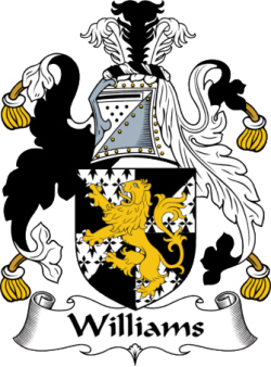 Immigrant Ancestor - Williams Coat of Arms