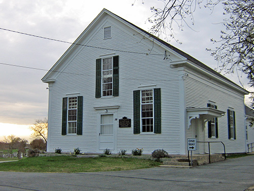 Allen's Neck Meeting House, Dartmouth, Mass.