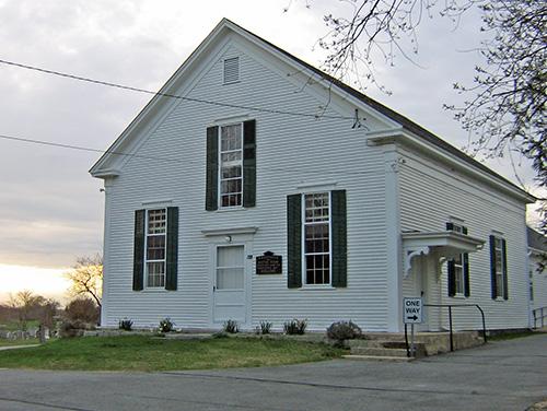 Allen's Neck Meeting House, Dartmouth, Mass.