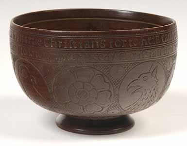 Allerton Cushman Cup, Pilgrim Hall Museum