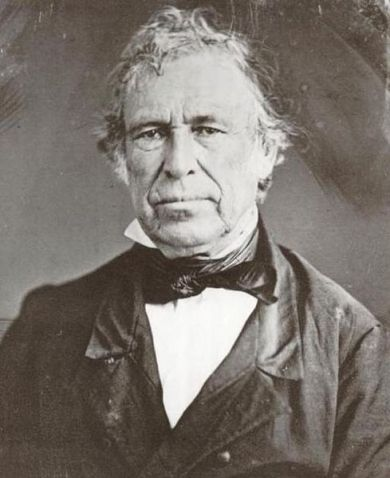Zachary Taylor 12th President of the United States was Sarah's great grandson