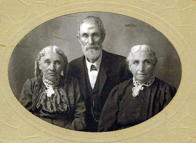 Siblings Mary Walker (1830-1920, John Walker Rankin (1835- ), and Catherine Walker (1832-1925)