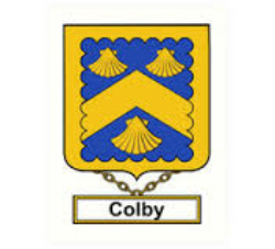 Immigrant Ancestor - Colby Coat of Arms