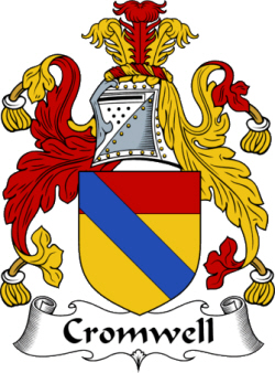 Immigrant Ancestor - Cromwell Coat of Arms