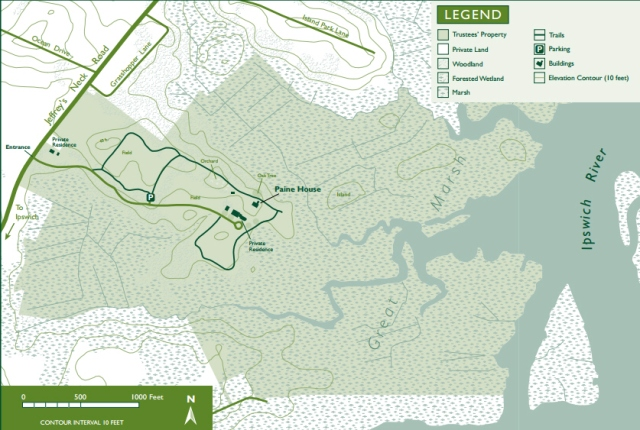 Greenwood Trail Map